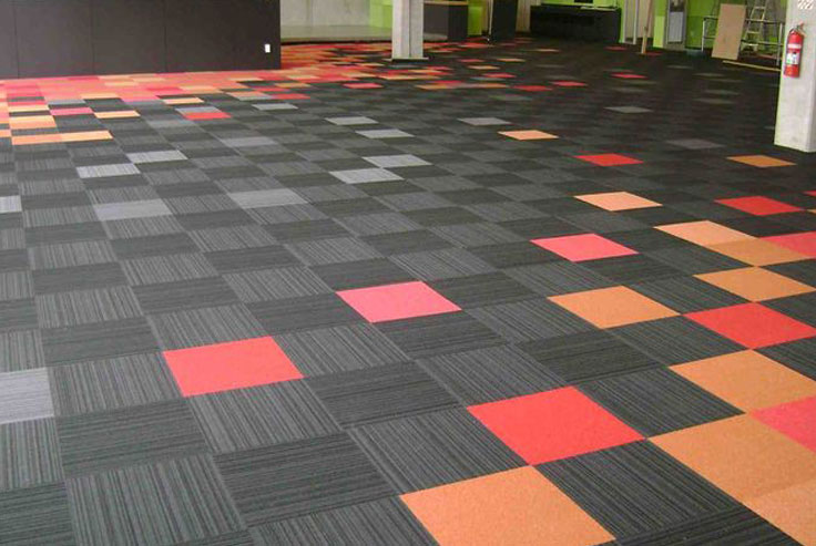 Acoustic Floor Carpet Tiles